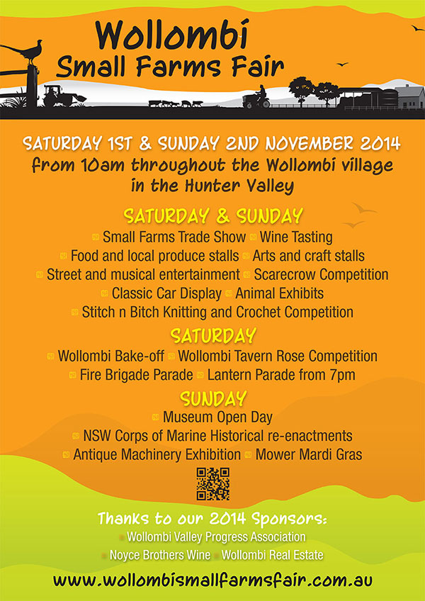 Wollombi Small Farms fair, Hunter Valley