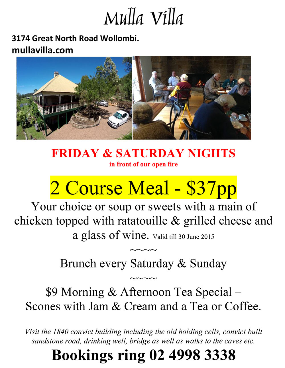 Mulla-Villa-Restaurant-offer-2015