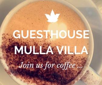 Guesthouse Mulla Villa, Historic building with accommodation, tours, restaurant, weddings