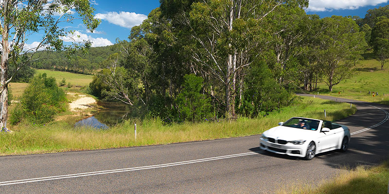 Scenic Drives around the Hunter Valley
