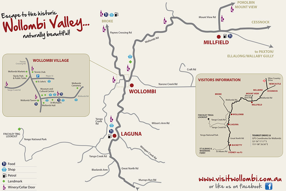 Hunter Valley Maps and Apps | Visit Wollombi on map dallas, map wings, map navy,