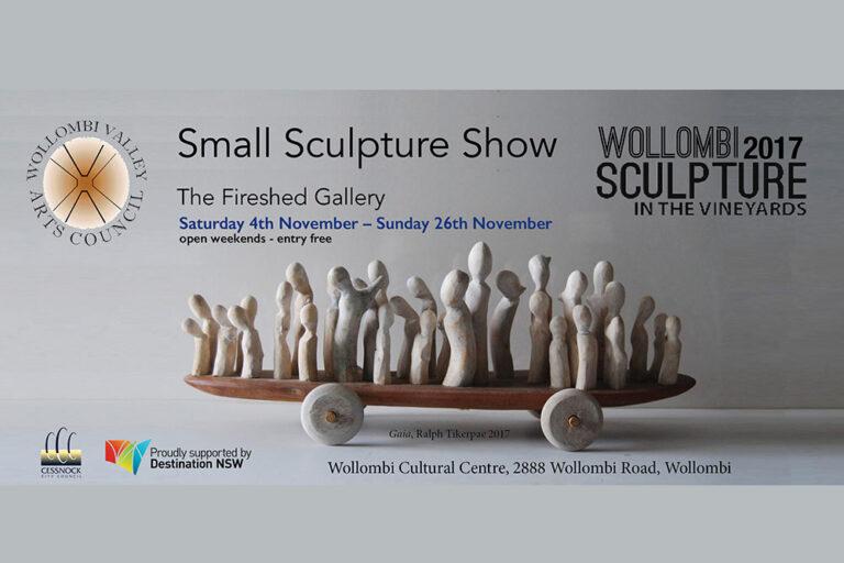 Small Sculpture Show, Wollombi Cultural centre