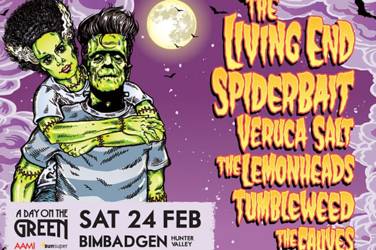 The Living End, Spiderbait, A Day on the Green, Hunter Valley