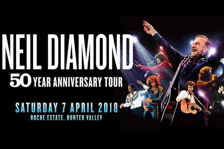 Neil Diamond, Roche Estate Hunter Valley, April 2018
