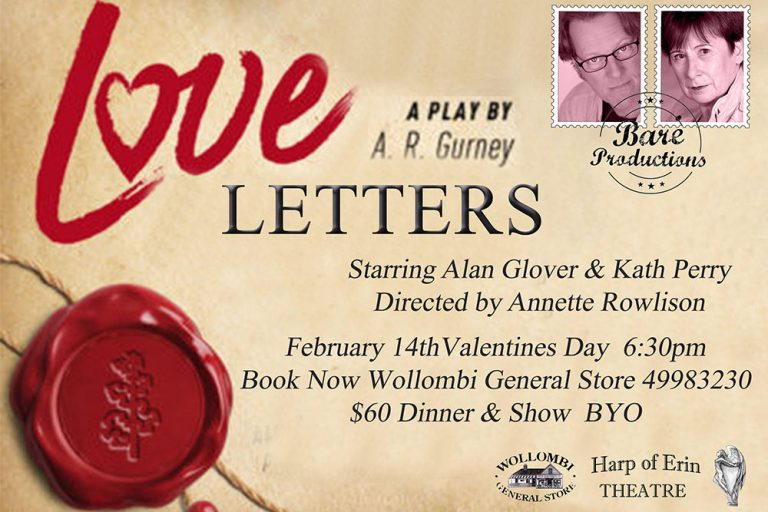 Love Letters theatre production, Wollombi