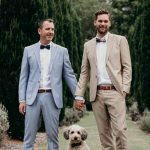 Same sex marriage, Hunter Valley wedding reception