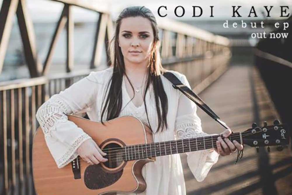 Codi Kaye at the Tav