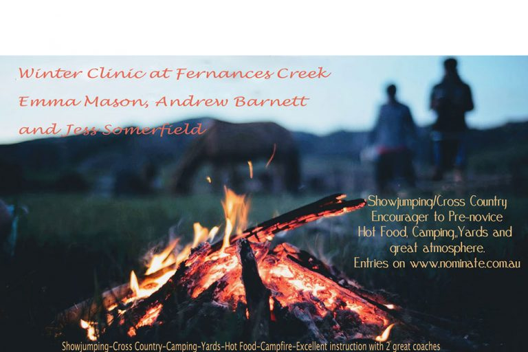 Fernances Creek Farm, Winter Show Jumping Clinic