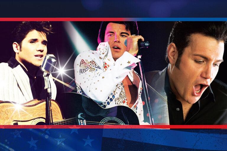 Elvis Trilogy, Cessnock Performing Arts Centre, Hunter Valley