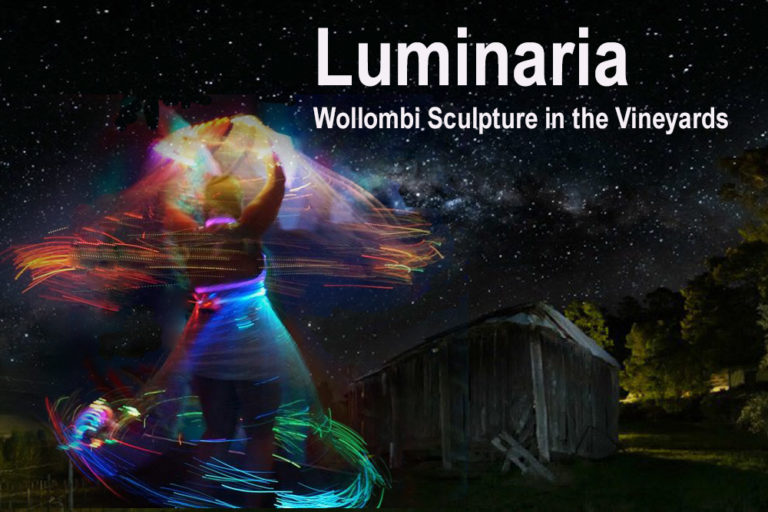Sculpture in the Vineyards, Luminaria, Wollombi, Hunter Valley