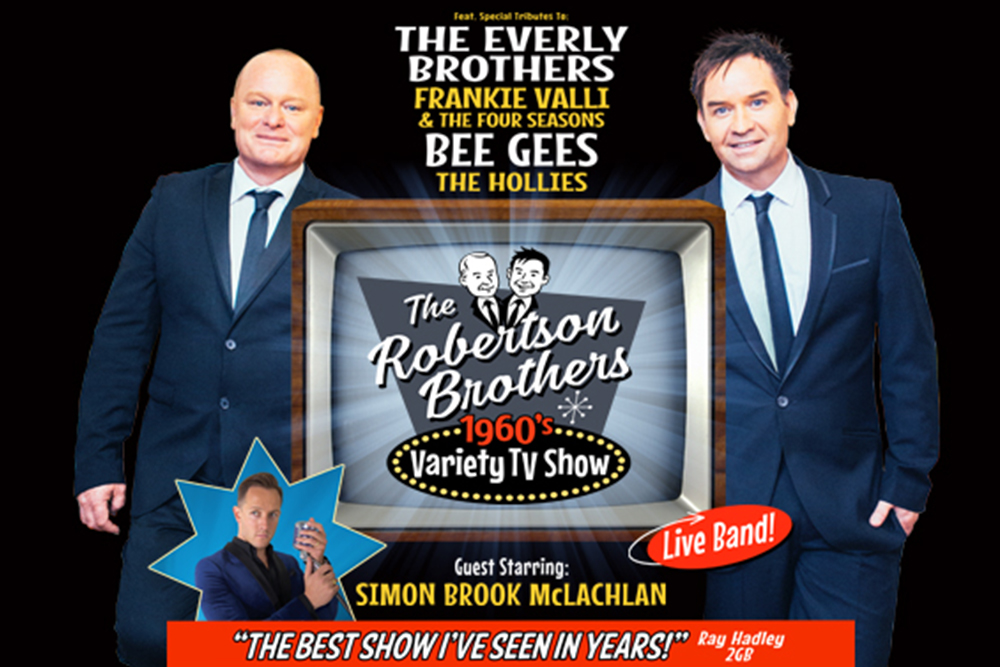 The Robertson Brothers '60s Variety Show