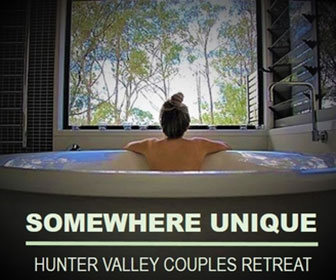 Somewhere Unique, Hunter Valley Couples Retreat
