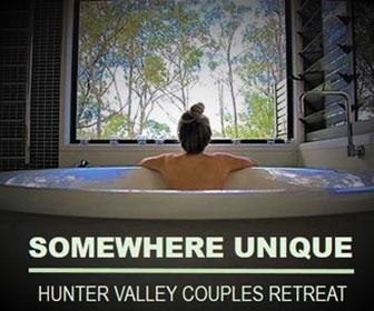 Somewhere Unique, Hunter Valley Couples Retreat