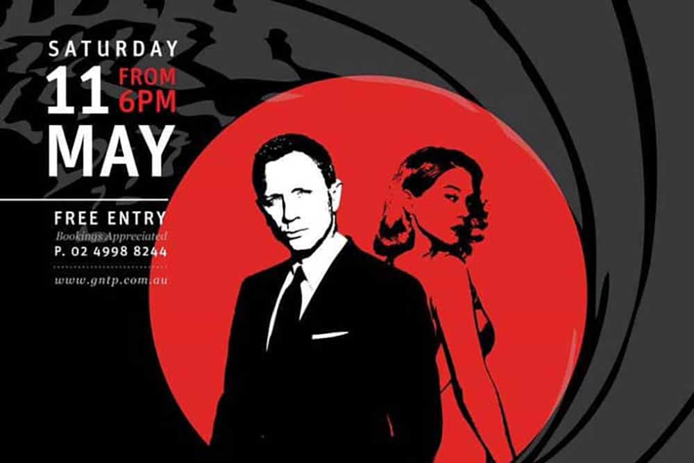 007 Theme night at GNTP Laguna