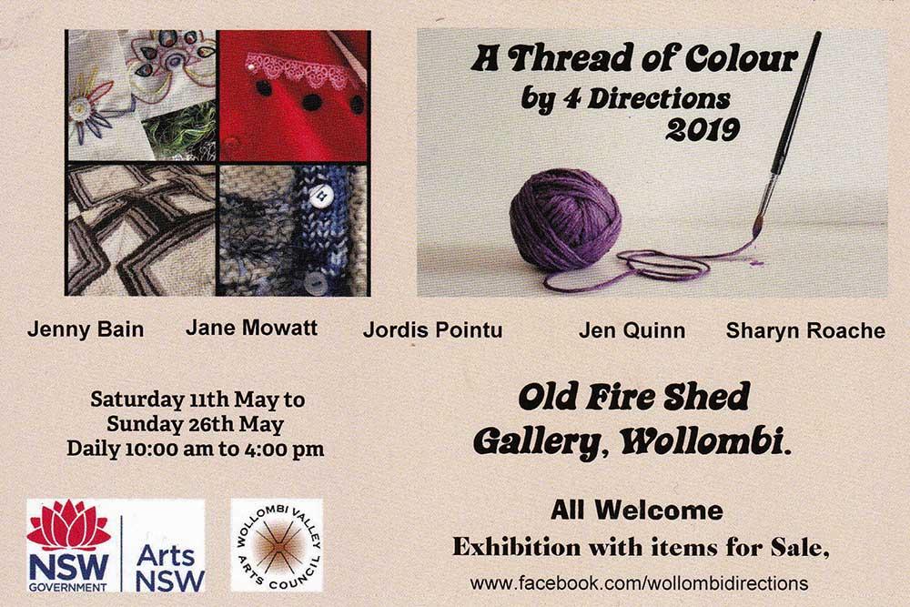 Art Exhibition: A Thread of Colour