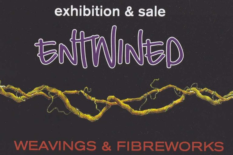 Entwined Weaving Exhibition, Wollombi Cultural centre, Hunter Valley