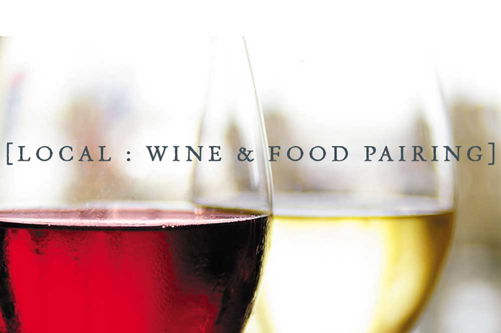 LOCAL - Wine & Food Pairing at Myrtle House