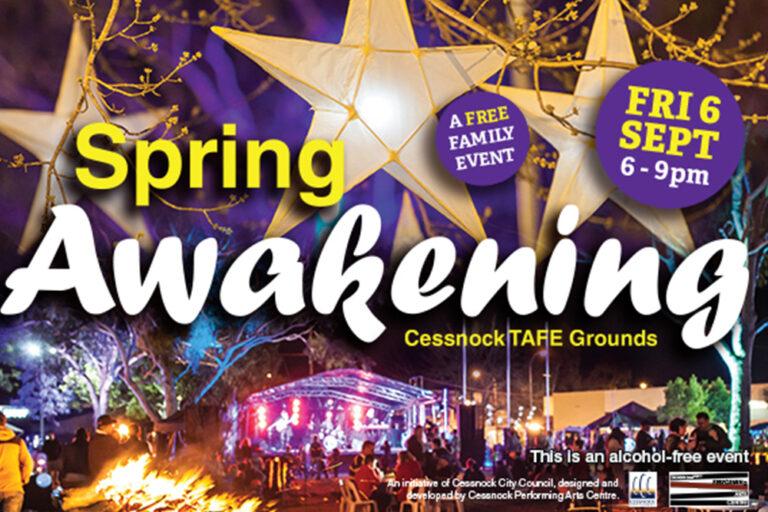 Spring Awakening Festival, Cessnock City Council