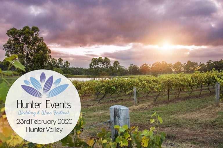 Hunter Valley Wedding and Wine Festival 2020