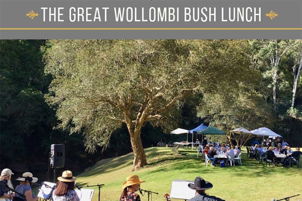 The Great Wollombi Bush Lunch