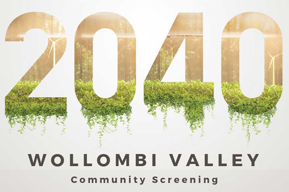 2040 movie screening Wollombi Valley