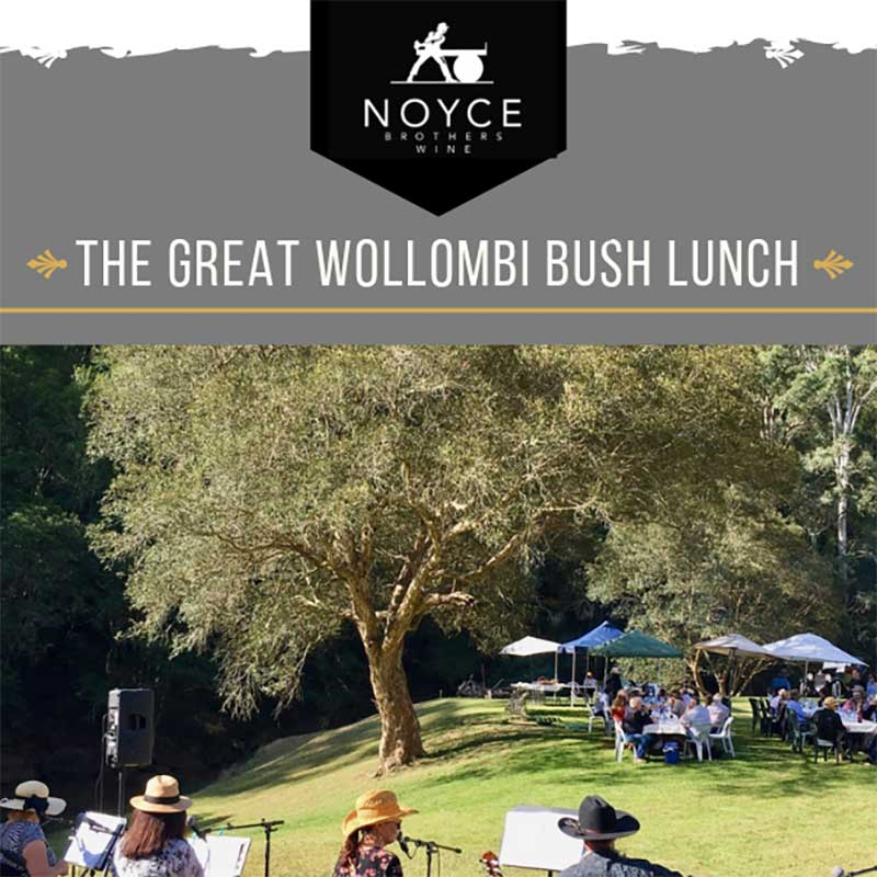 Noyce Brothers Wine, The Great Wollombi Bush Lunch