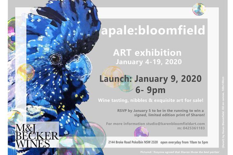 Apale:Bloomfield Art Exhibition, Pokolbin, Hunter Valley