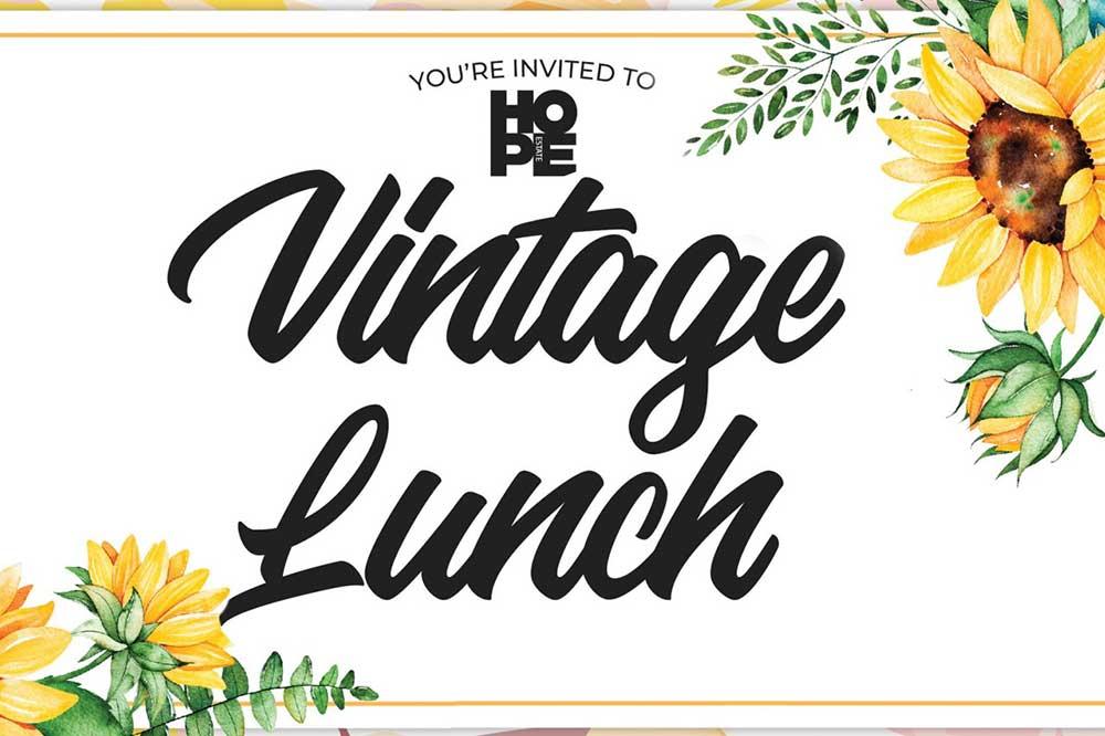 Vintage Lunch