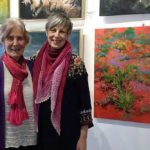 Diana Baker and Sylvia Roberts present Our Journey Continues exhibition at the Old Fireshed Gallery, Wollombi