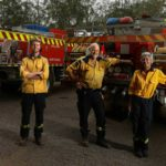 Wollombi volunteer firefighters battle for their historic village on multiple fronts