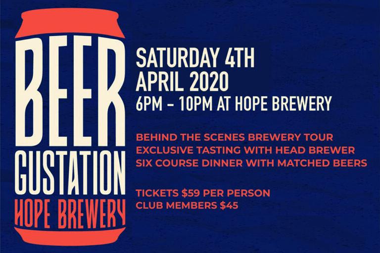 Beer Degustation, Hope Brewery Hunter Valley