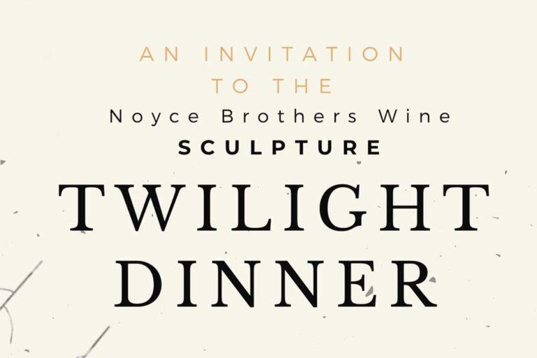 Noyce Brothers Wine, Twilight Dinner, Wollombi