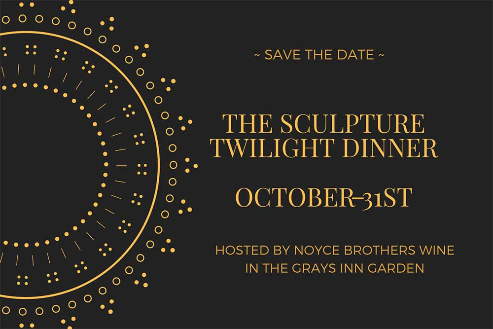 The Sculpture Twilight Dinner hosted by Noyce Brothers Wine