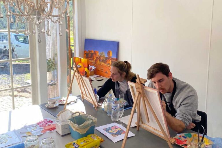 Hollybrook, Art N Sip Class, Wollombi