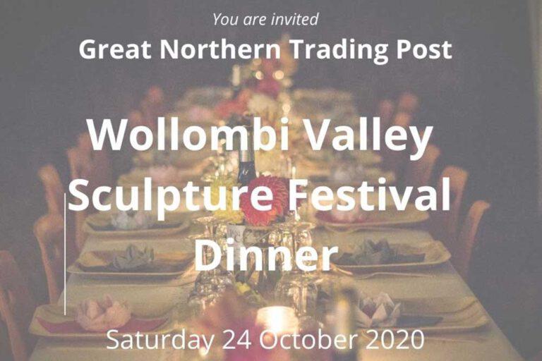 GNTO Sculpture Festival Dinner, Wollombi Valley