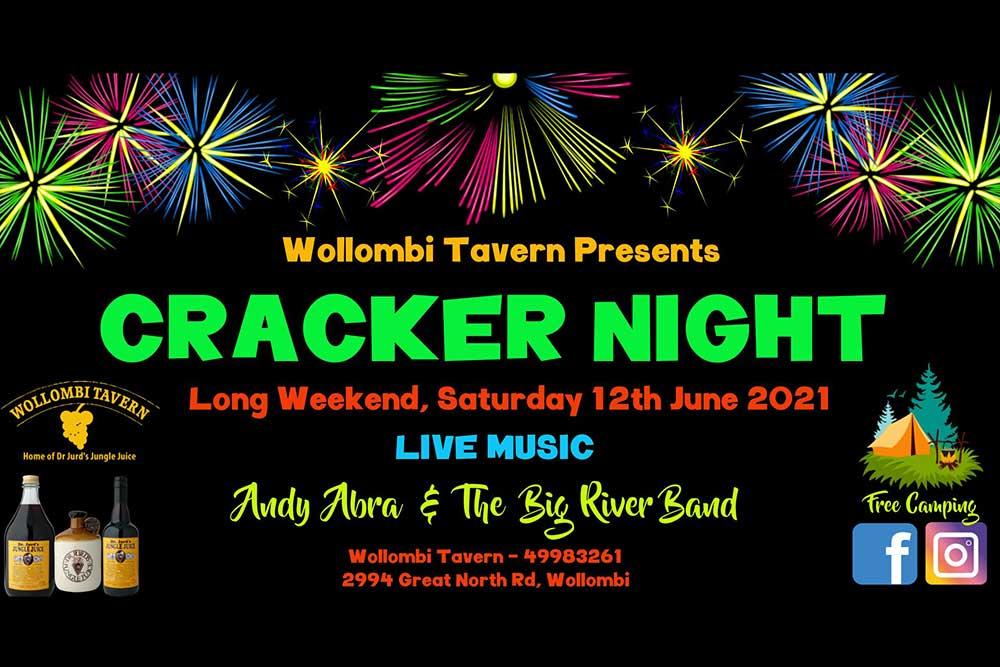 Wollombi Tavern Cracker Night