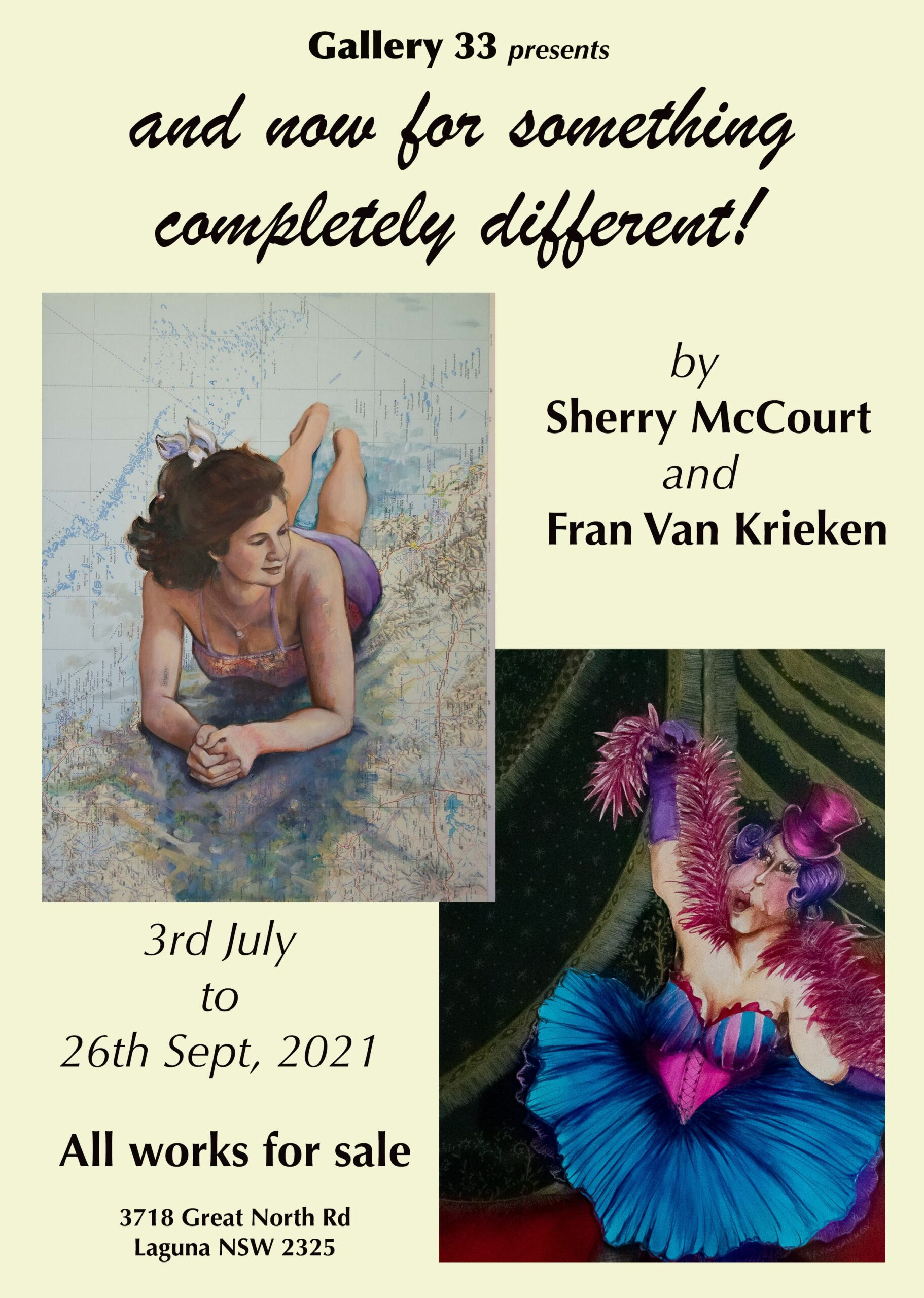 Art Exhibiton: And now for something completely different!